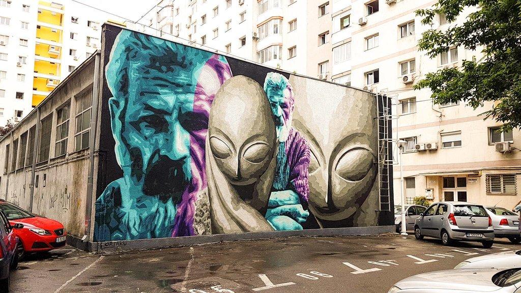 Artă stradală,  NU vandalism!